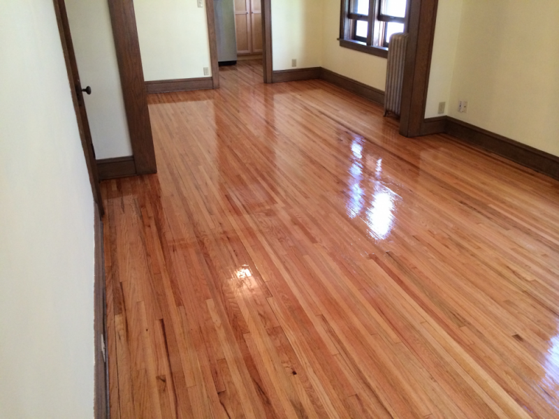 Repairs Patch Sanding And Refinish Of 1 5 Inch Red Oak South