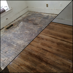 Hardwood Floor Refinish In An Old House North Minneapolis